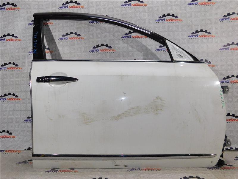 Дверь Nissan Teana J32-013317 VQ25-DE передняя правая