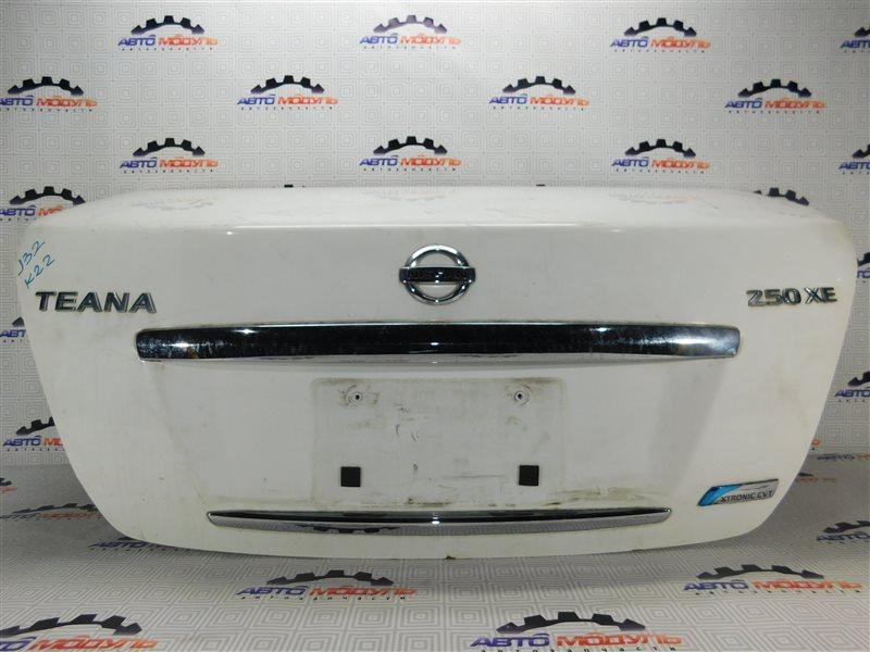 Крышка багажника Nissan Teana J32-013317 VQ25-DE
