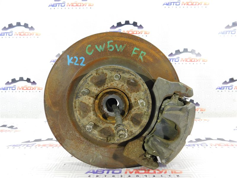 Диск тормозной Mitsubishi Outlander CW5W-0023320 4B12 2006 передний