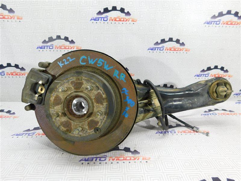 Диск тормозной Mitsubishi Outlander CW5W-0023320 4B12 2006 задний