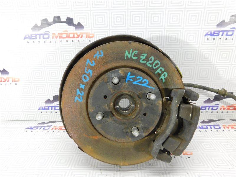 Диск тормозной Toyota Raum NCZ20 1NZ передний