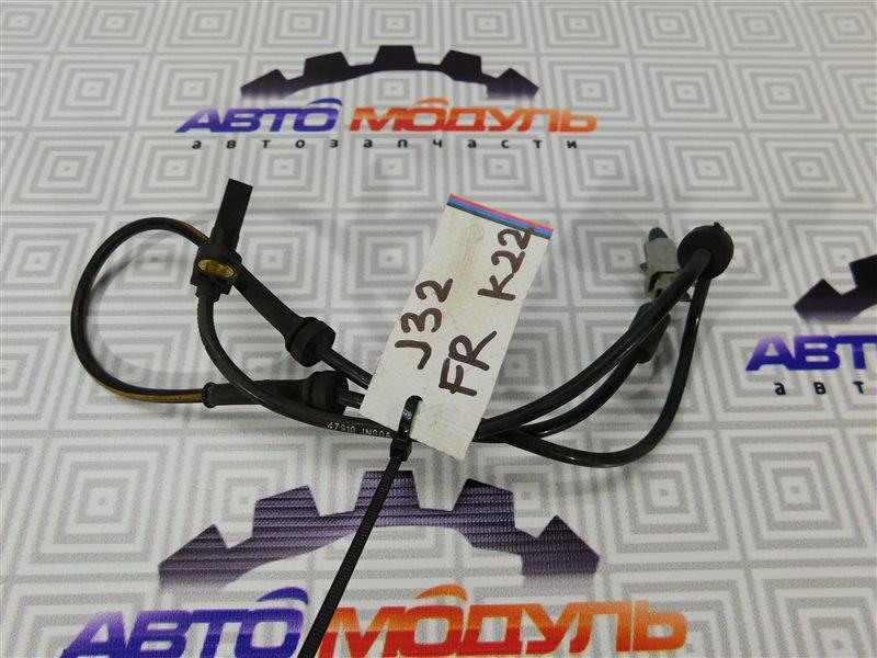 Датчик abs Nissan Teana J32-013317 VQ25-DE передний правый