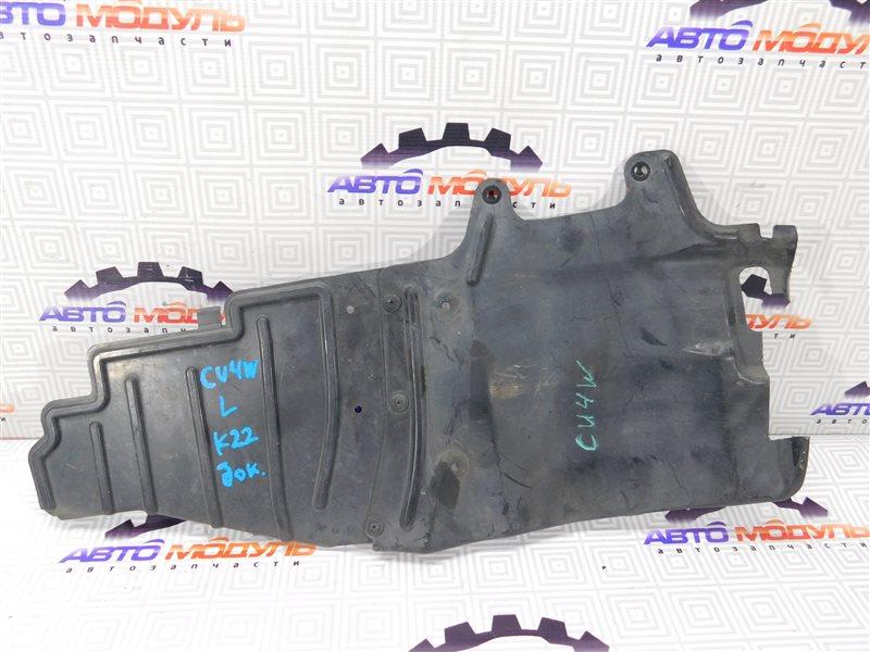 Защита двигателя Mitsubishi Airtrek CU4W-0100389 4G64 2002 левая