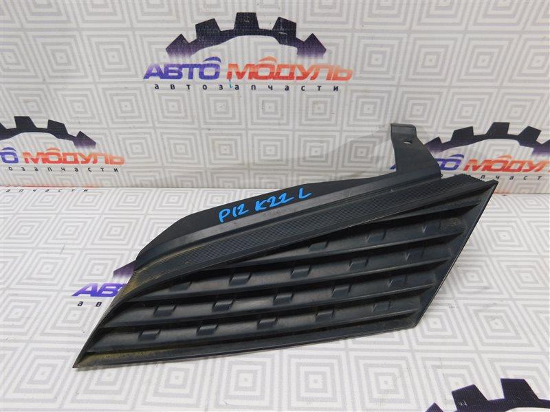 Решетка радиатора Nissan Primera RP12 QR20-DE левая