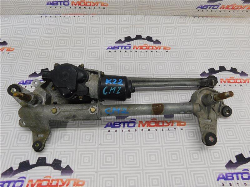 Мотор дворников Honda Accord CM2-1005510 K24A передний