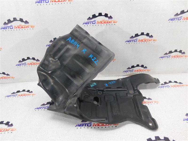 Защита двигателя Toyota Sprinter Carib AE111 правая