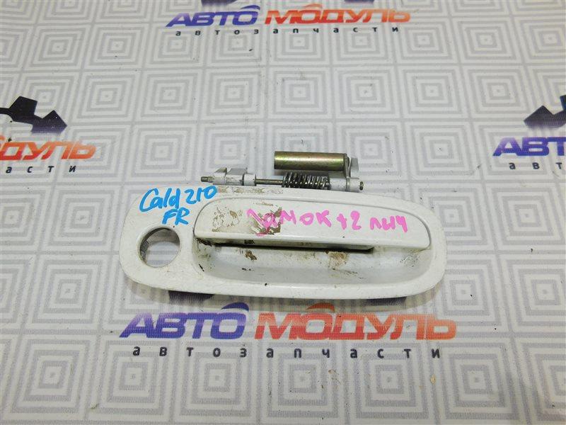 Ручка двери Toyota Caldina AT210 передняя правая