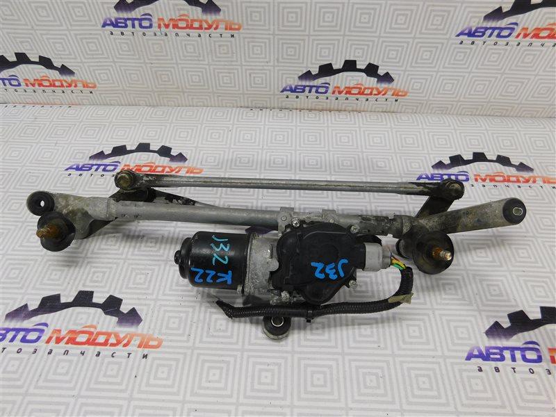 Мотор дворников Nissan Teana J32-013317 VQ25-DE передний