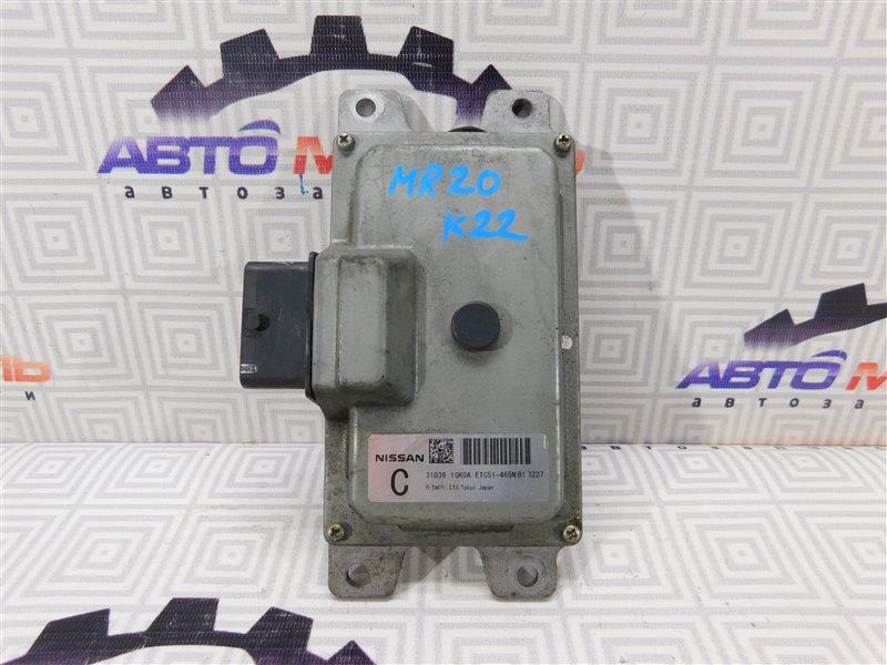 Блок управления акпп Nissan Serena C25 MR20-DE