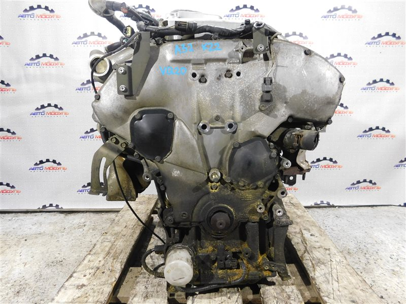 Двигатель Nissan Cefiro A32 VQ20-DE