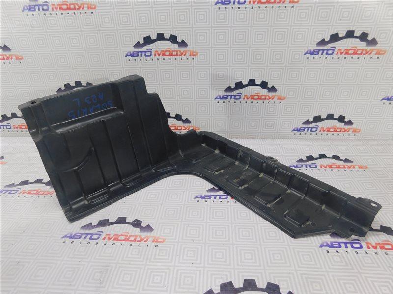 Защита двигателя Hyundai Solaris передняя левая