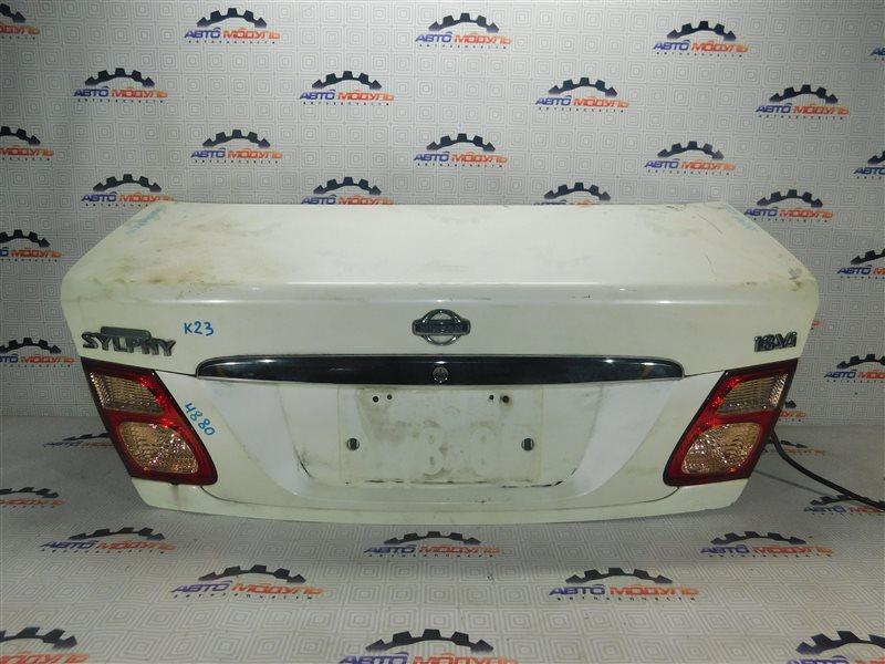 Крышка багажника Nissan Bluebird Sylphy FG10 задняя