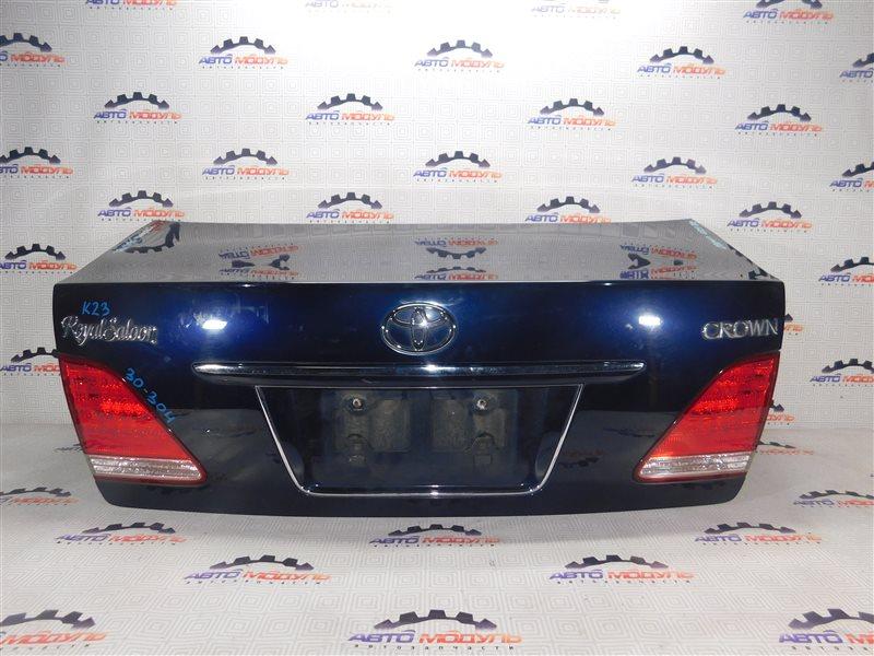 Крышка багажника Toyota Crown GRS180 задняя
