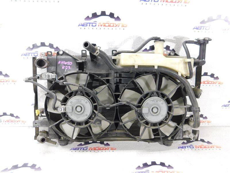 Радиатор основной Toyota Prius NHW20 1NZ-FXE