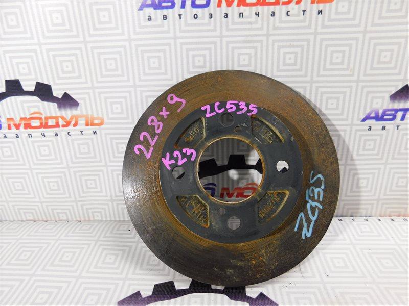 Диск тормозной Suzuki Swift ZC33S задний