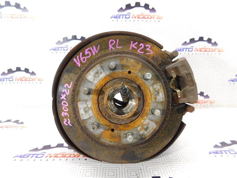Диск тормозной Mitsubishi Pajero V65W-0002221 6G74 2000 задний