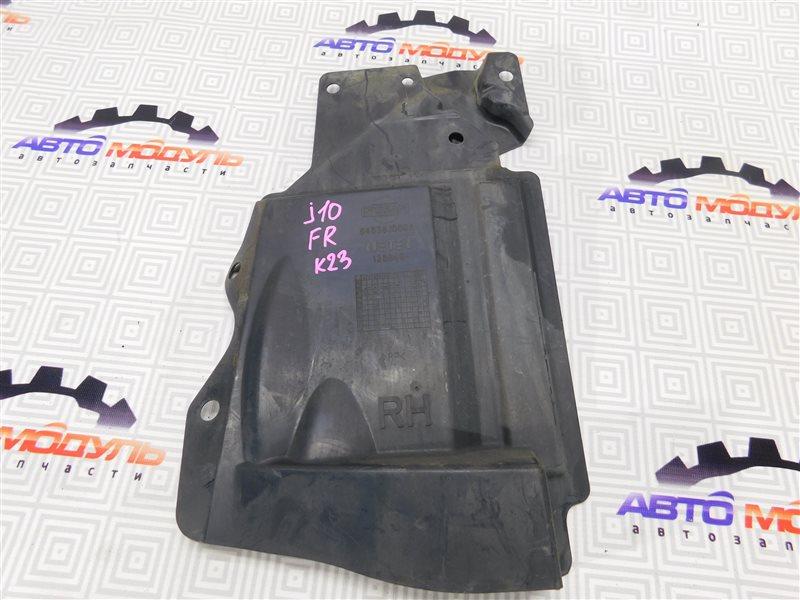 Защита двигателя Nissan Qashqai J10 передняя правая