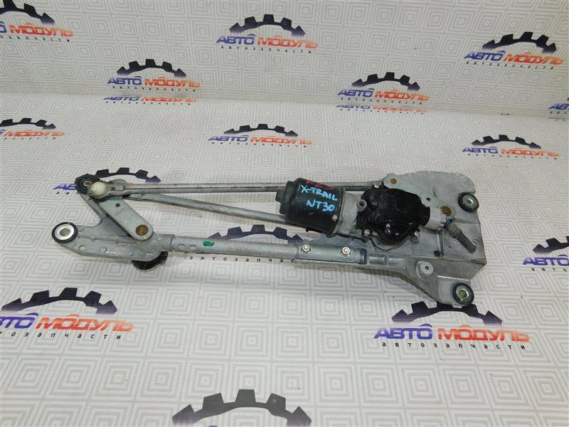 Мотор дворников Nissan X-Trail NT30-303050 QR20-DE 2007 передний