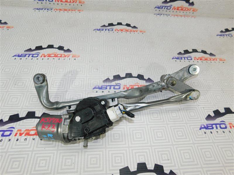 Мотор дворников Toyota Vitz KSP130 передний