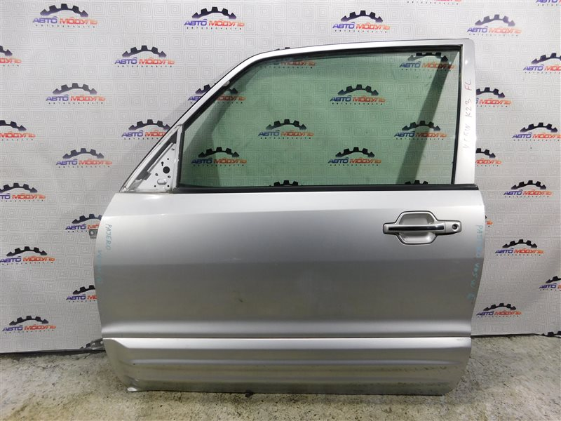 Дверь Mitsubishi Pajero V65W-0002221 6G74 2000 передняя левая