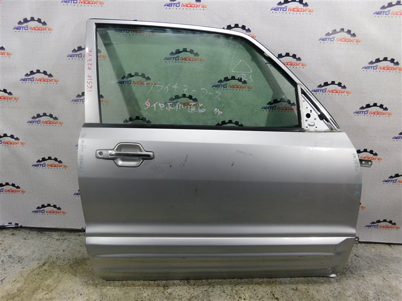 Дверь Mitsubishi Pajero V65W-0002221 6G74 2000 передняя правая