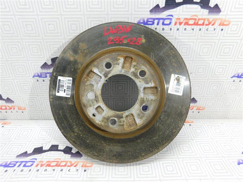 Диск тормозной Mazda Mpv LW3W передний