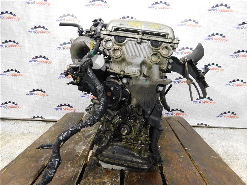 Двигатель Nissan Bluebird EU13 SR18-DE