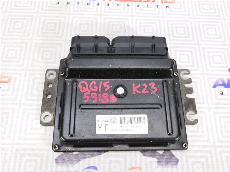 Компьютер двс Nissan Bluebird Sylphy FG10 QG15-DE