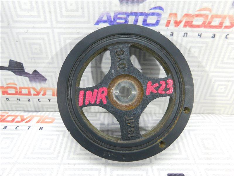 Шкив коленвала Toyota Ractis NSP120 1NR-FE