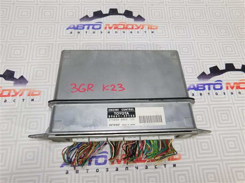 Компьютер двс Toyota Crown Majesta GRS182 3GR-FSE