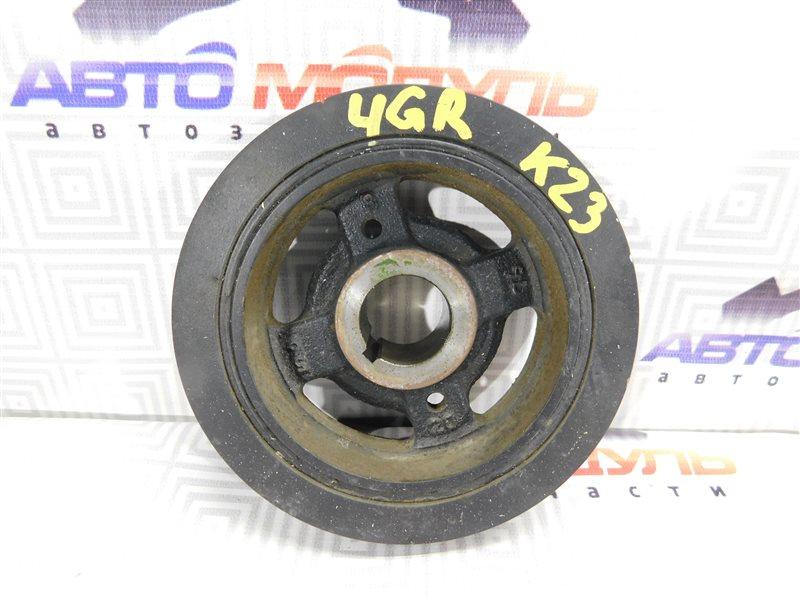 Шкив коленвала Toyota Crown GRS180 3GR-FSE