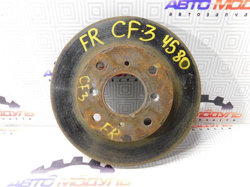 Диск тормозной Honda Accord CF3 F18B передний