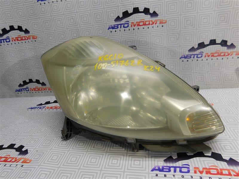 Фара Toyota Passo KGC10 правая