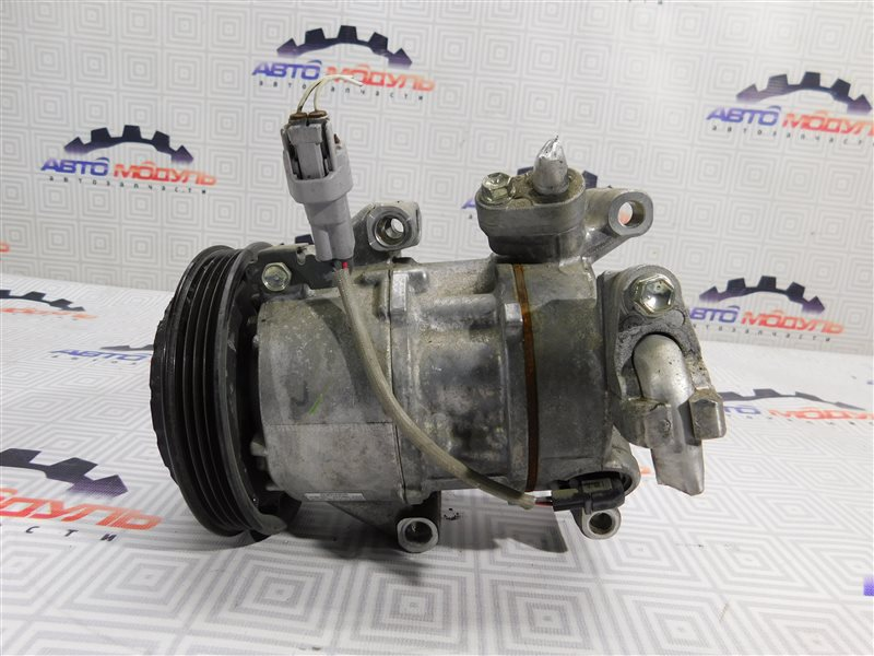 Компрессор кондиционера Toyota Porte NCP141 1NZ-FE