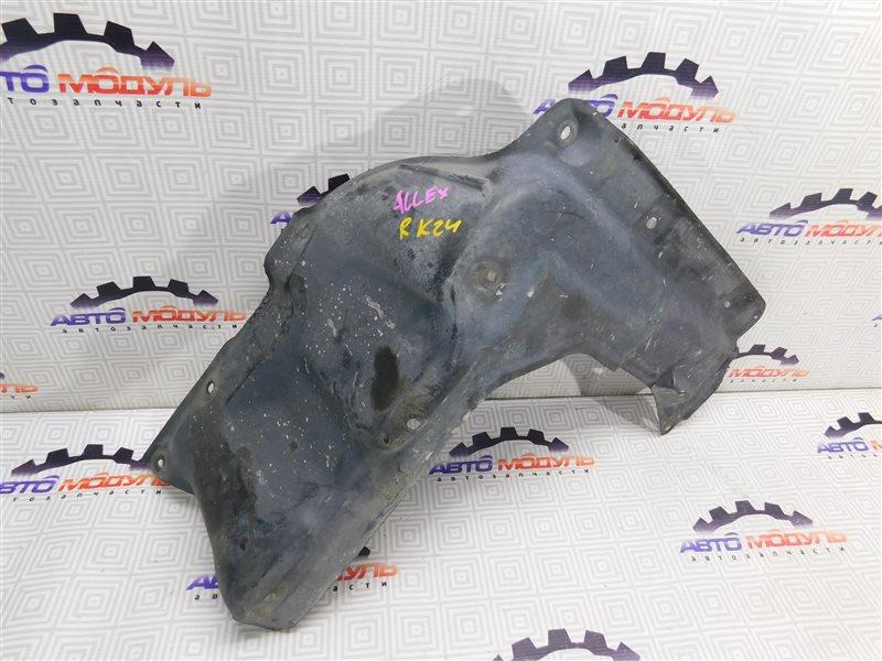 Защита двигателя Toyota Allex NZE121 передняя правая