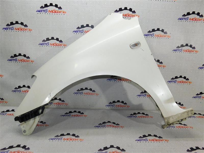 Крыло Honda Stream RN1-2002877 D17A переднее левое