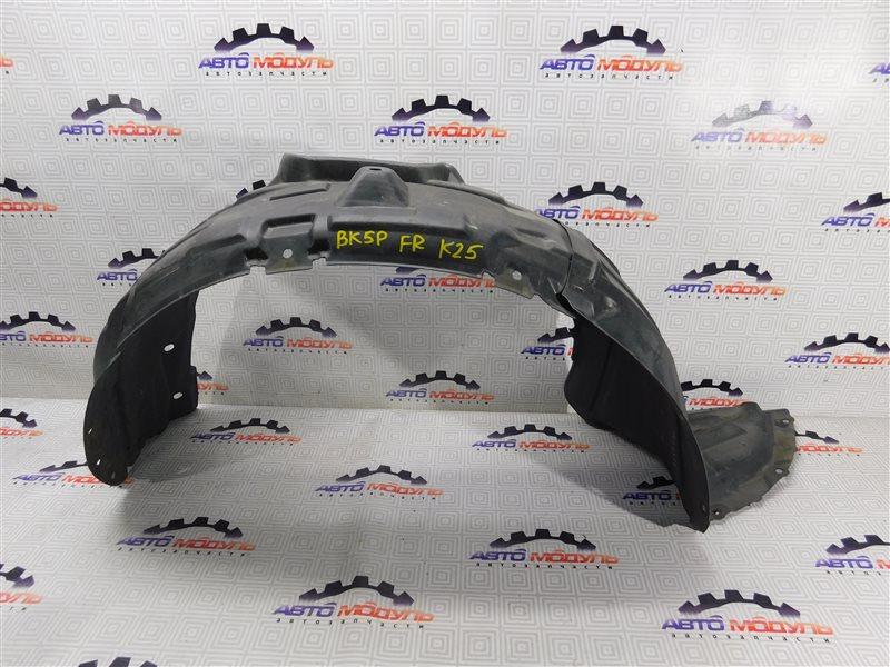 Подкрылок Mazda Axela BK5P-210591 ZY-VE 2005 передний правый