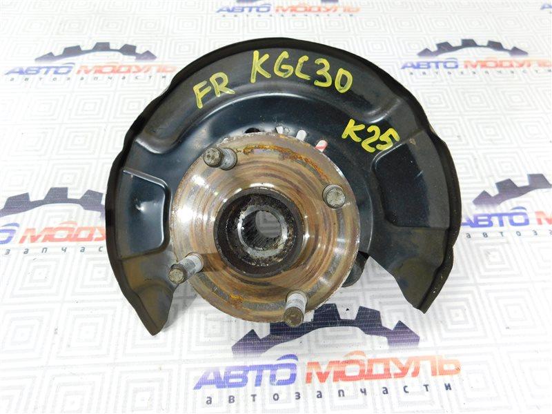 Ступица Toyota Passo KGC30 передняя правая