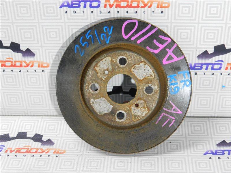 Диск тормозной Toyota Sprinter AE101 передний