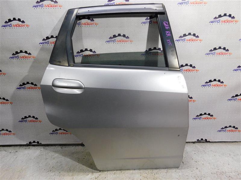 Дверь Honda Fit GE6-1171609 L13A задняя правая