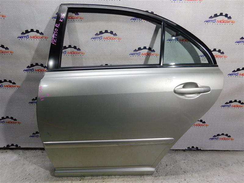 Дверь Toyota Avensis AZT250-0024929 1AZ-FSE 2004 задняя левая