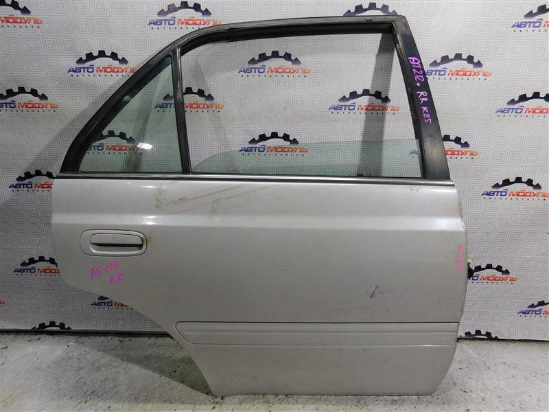 Дверь Toyota Corona Premio AT210 задняя правая