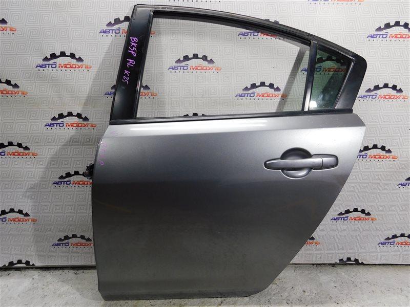 Дверь Mazda Axela BK5P-210591 ZY-VE 2005 задняя левая