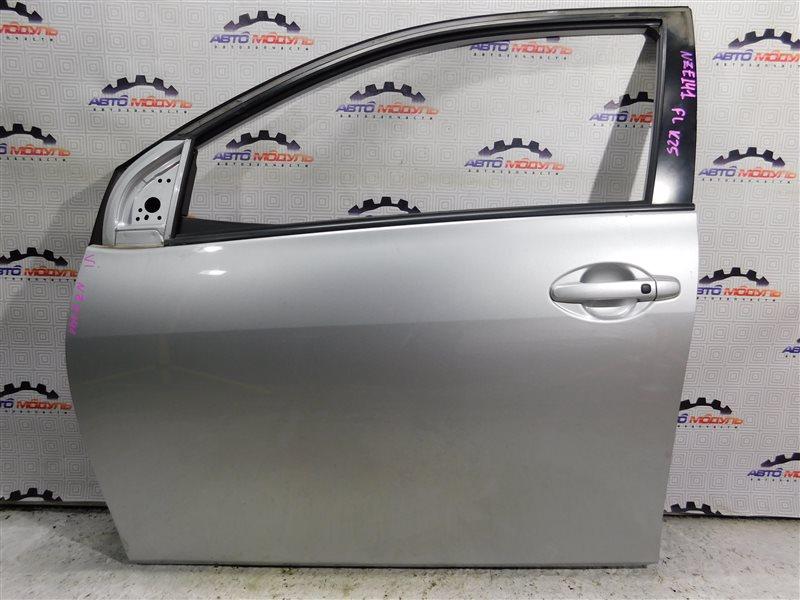 Дверь Toyota Corolla Fielder NZE141-9018138 1NZ-FE 2007 передняя левая