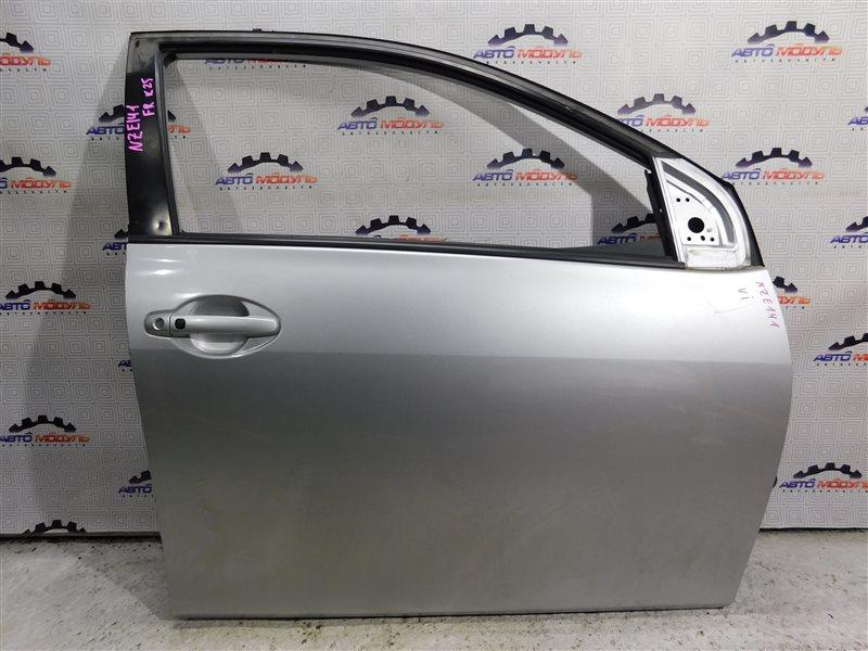 Дверь Toyota Corolla Fielder NZE141-9018138 1NZ-FE 2007 передняя правая