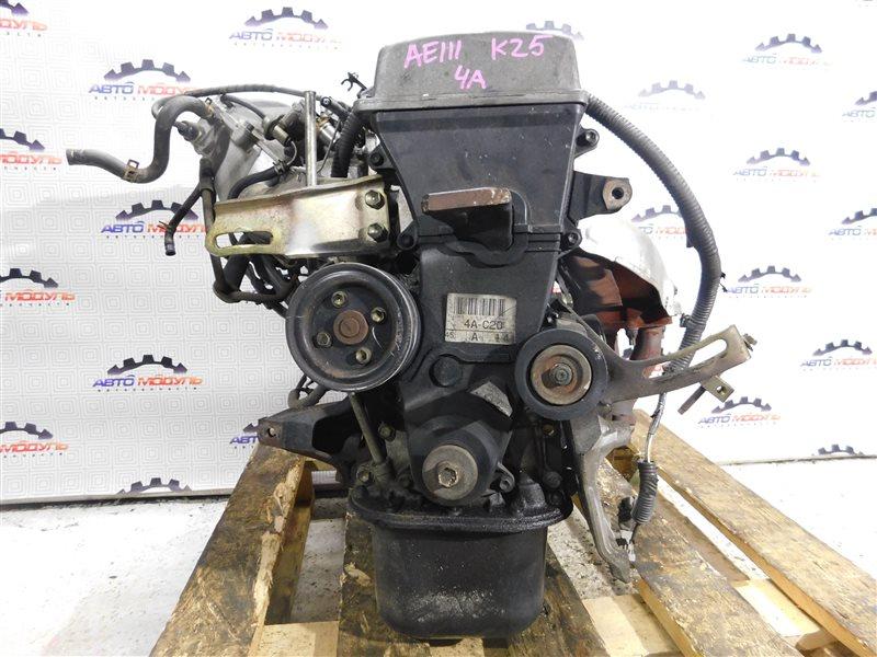 Двигатель Toyota Sprinter Carib AE111-7013083 4A-FE 1996