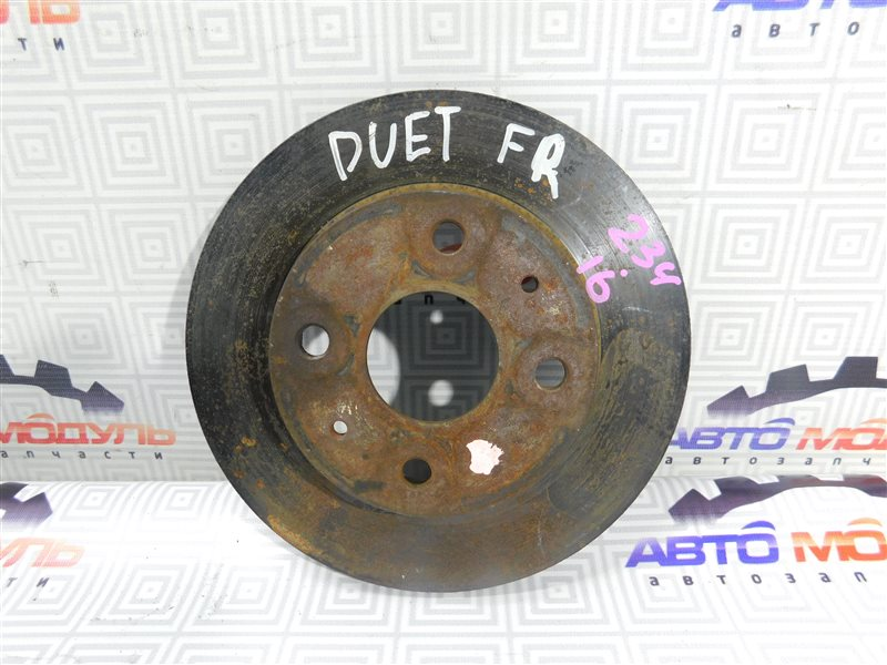 Диск тормозной Toyota Duet M100A передний