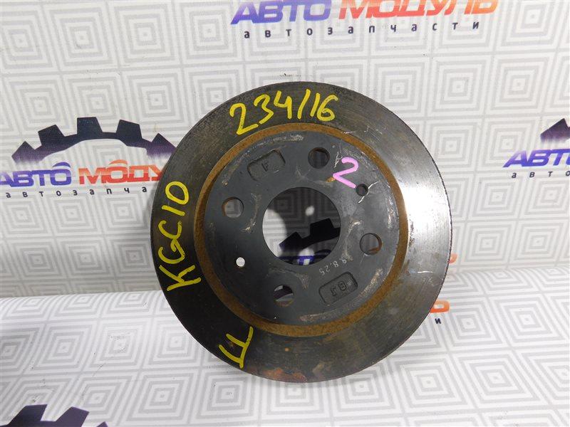 Диск тормозной Toyota Passo KGC10 передний