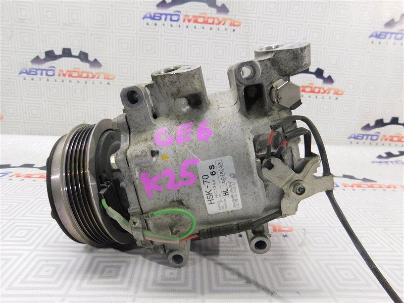 Компрессор кондиционера Honda Fit GE6-1171609 L13A