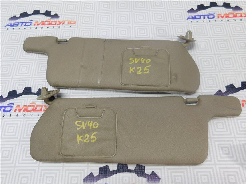 Козырек солнцезащитный Toyota Camry SV40-0098658 4S-FE 1996